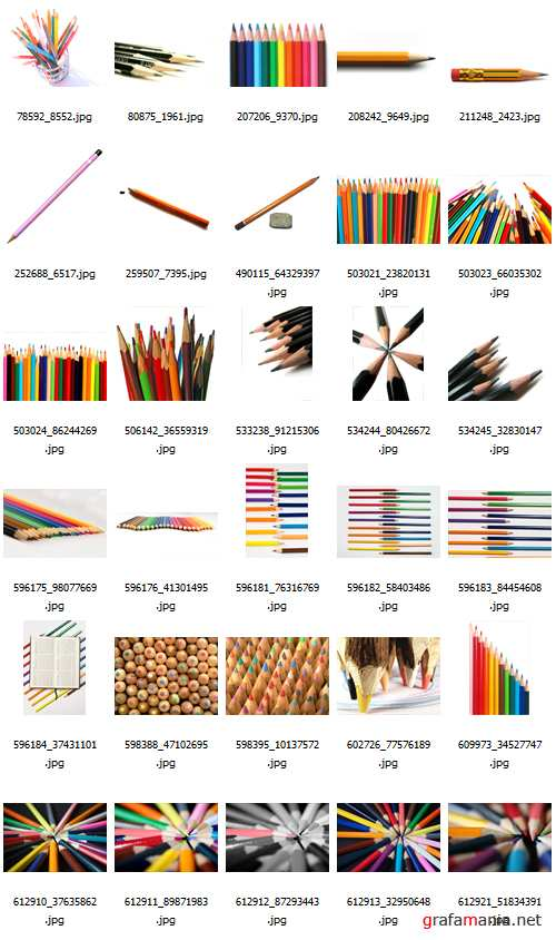 Grand Pencil Collection