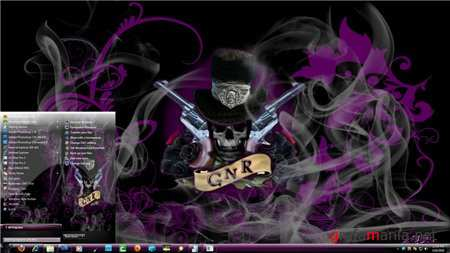 GNR-7 Theme for Windows 7