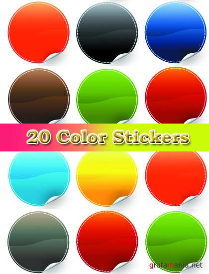 ��������� ������� - 20 Color Stickers