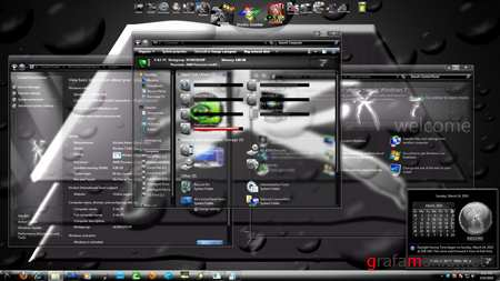 Silver X 7 Theme for Windows 7
