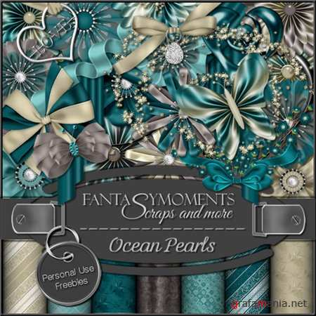 Скрап-набор - Fantasy Moments: Ocean Pearls