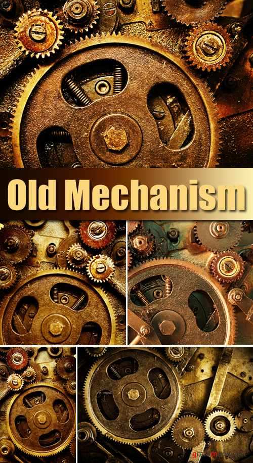 Stock Photo - Old Mechanism