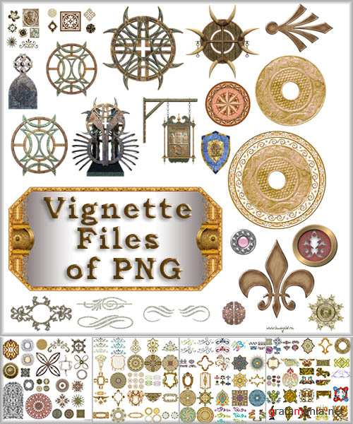Vignette Files of PNG