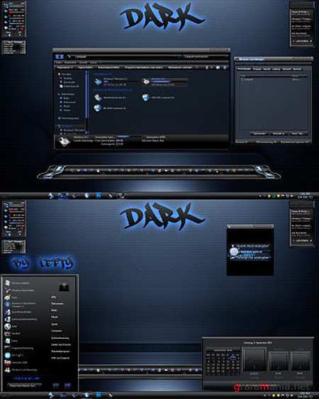 Dark Theme for Windows 7