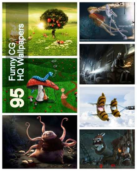 95 Funny CG HQ Wallpapers