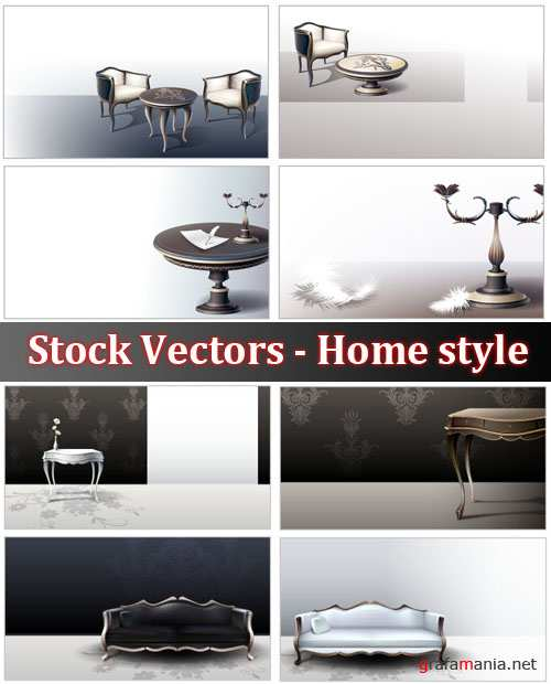 Stock Vectors - Home style