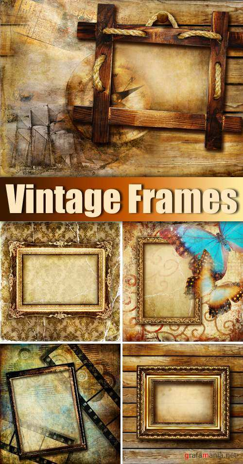 Stock Photo - Vintage Frames