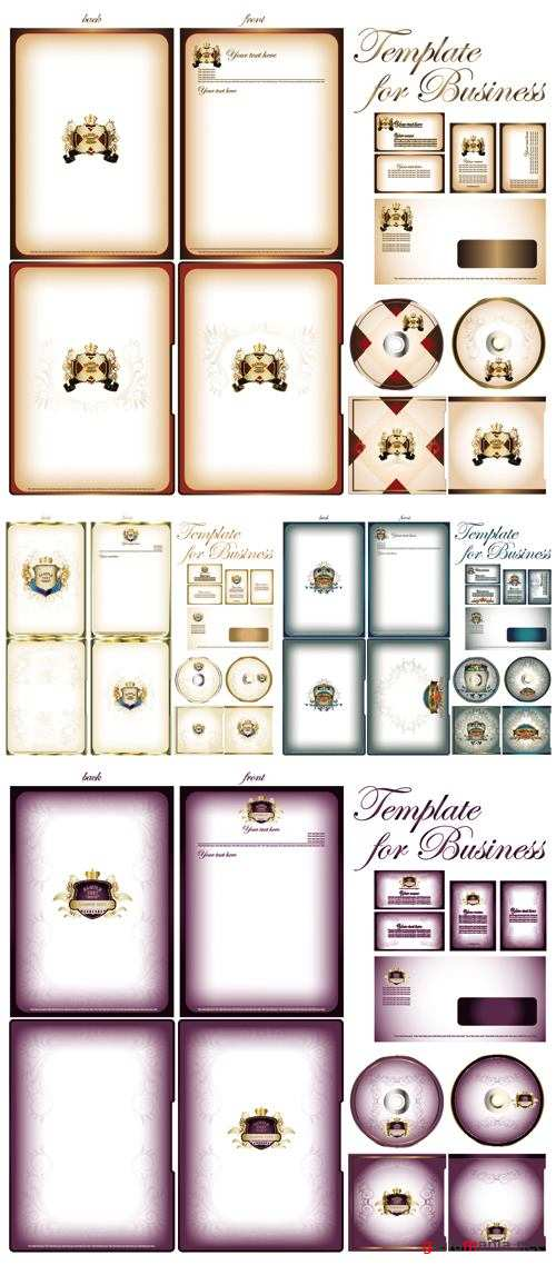 Business Templates Vector