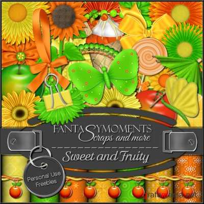 Скрап-набор - Fantasy Moments: Sweet and Fruity