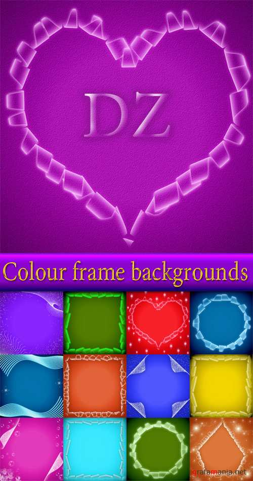 Colour frame backgrounds