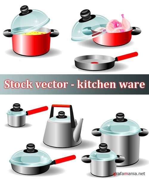 Stock vector - kitchen ware