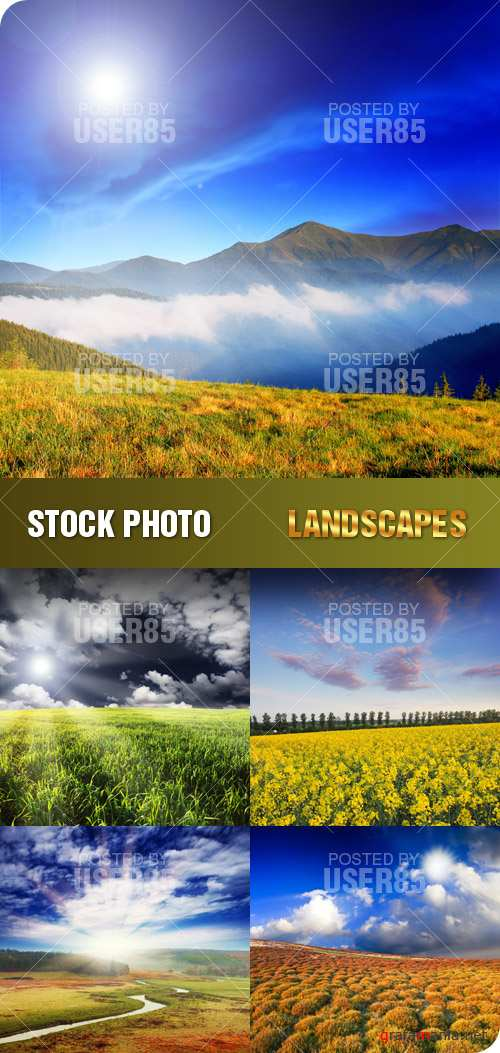 Stock Photo - Landscapes
