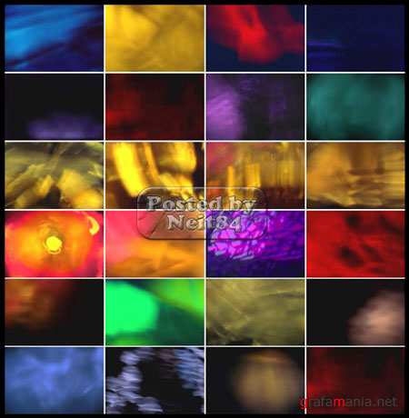 Footage Primal Lights of Photodisc Film