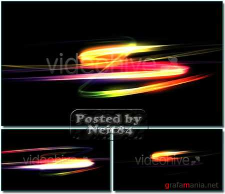 VideoHive motion Fluorescent Strokes Full HD