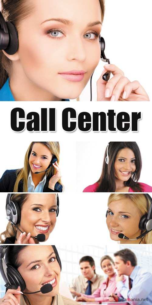 Stock Photo - Call Center