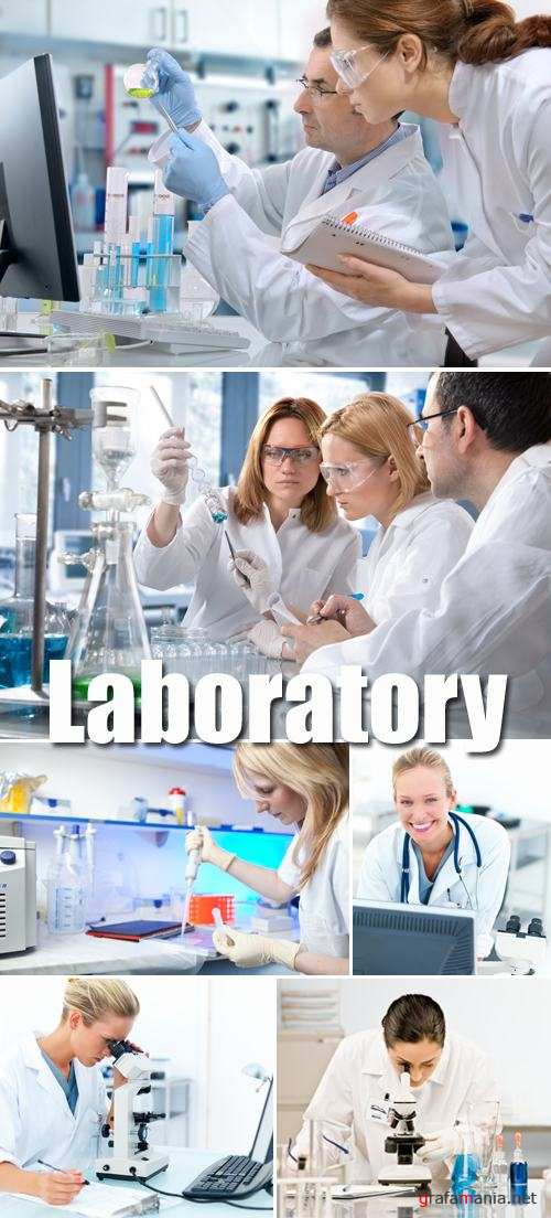 Stock Photo - Laboratory