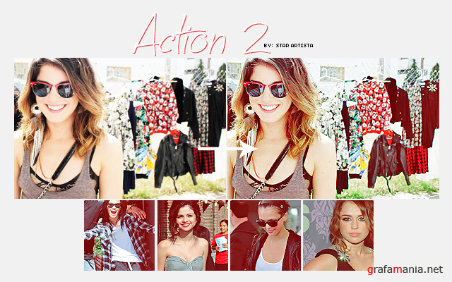 3 Actions for photoshop by Star Artista