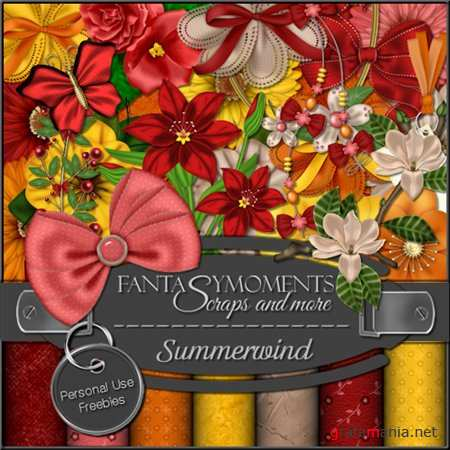 Скрап-набор - Fantasy moments: Summerwind