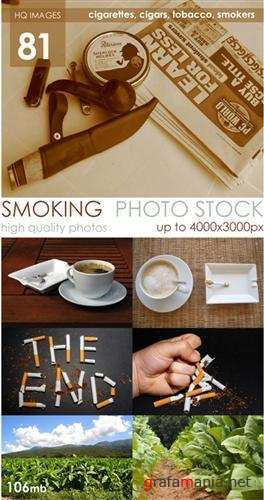 Stock Photos - Smoking