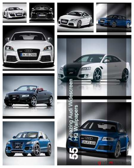 55 Amazing Audi Widescreen HQ Wallpapers