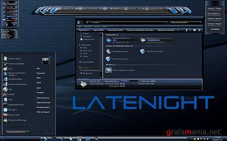 LateNight Theme for Windows 7