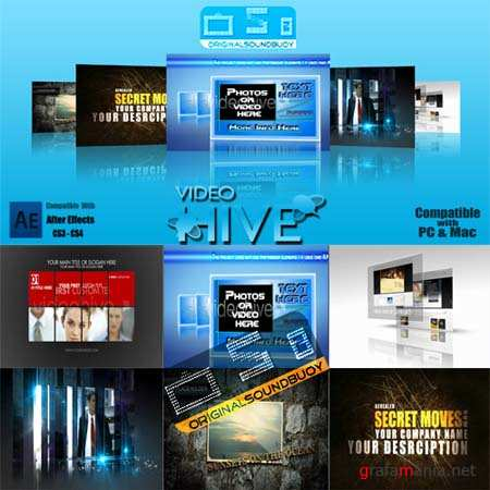 Videohive After Effects Project Set 31 + Tutorials