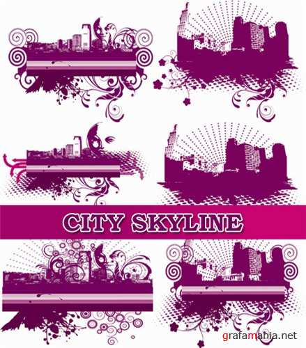 ��������� ������� - City Skyline Backgrounds