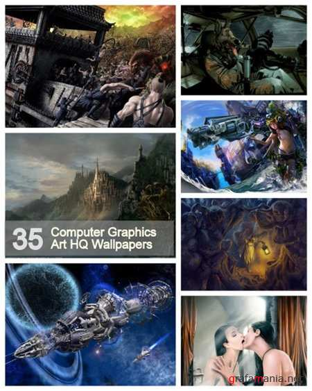 35 Computer Graphics Art HQ Wallpapers