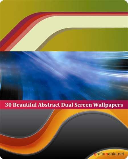 30 Beautiful Abstract Dual Screen Wallpapers