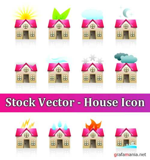 Stock Vector - House Icon