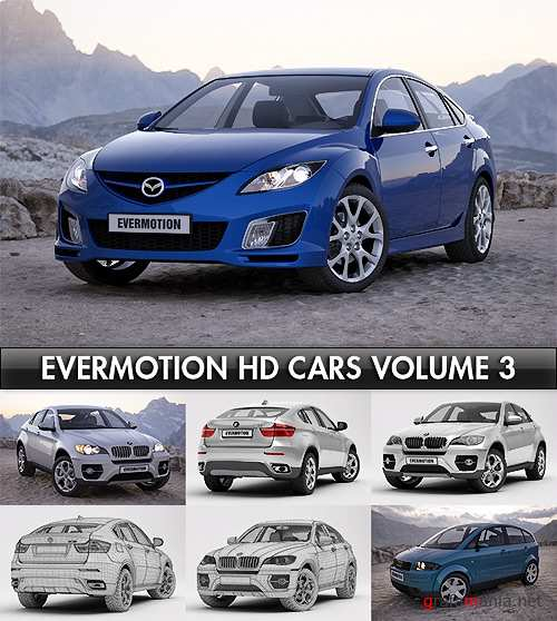Evermotion HD Cars Vol. 3