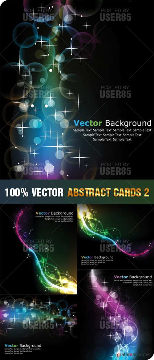 Stock Vector - Abstract Cards 2