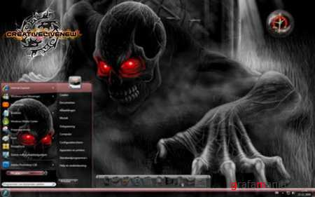 Theme for Windows 7 - Spooky