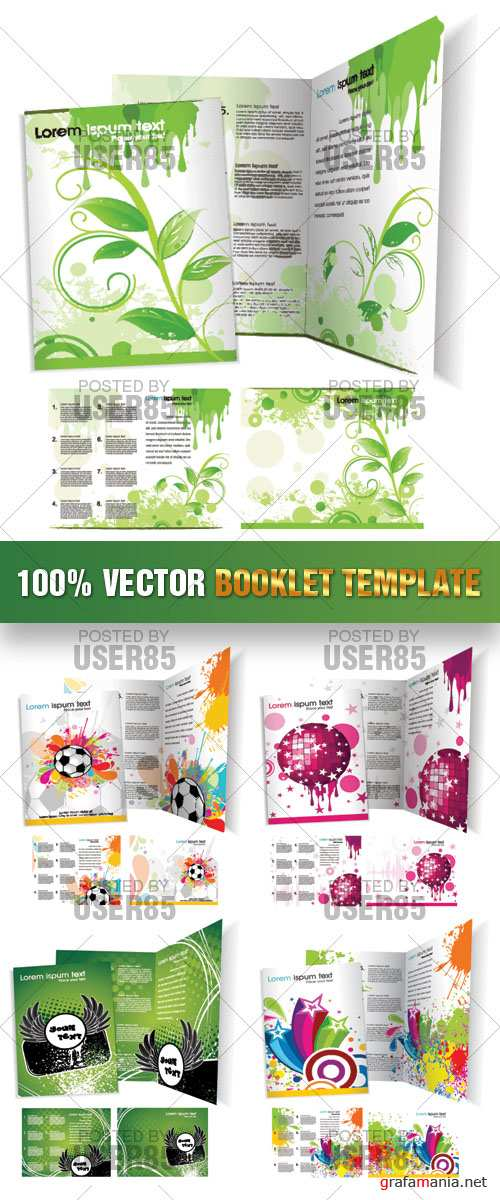 Stock Vector - Booklet Template