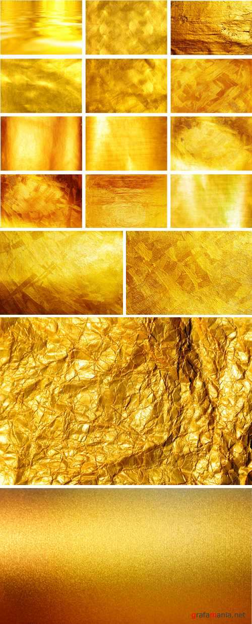 Stock Photo - Golden Textures