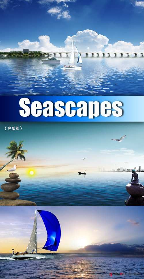 PSD Templates - Seascapes