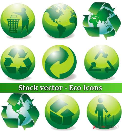 Stock vector - Eco Icons