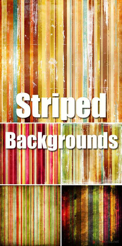 Stock Photo - Color Striped Backgrounds