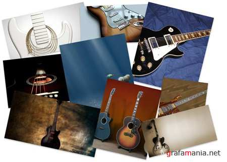 60 Guitars Wallpapers