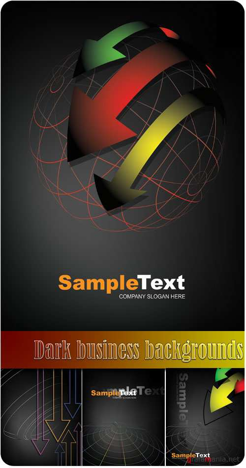Dark business backgrounds 2
