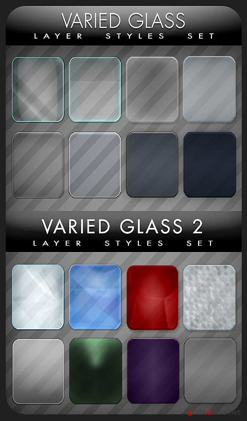 Varied Glass Styles