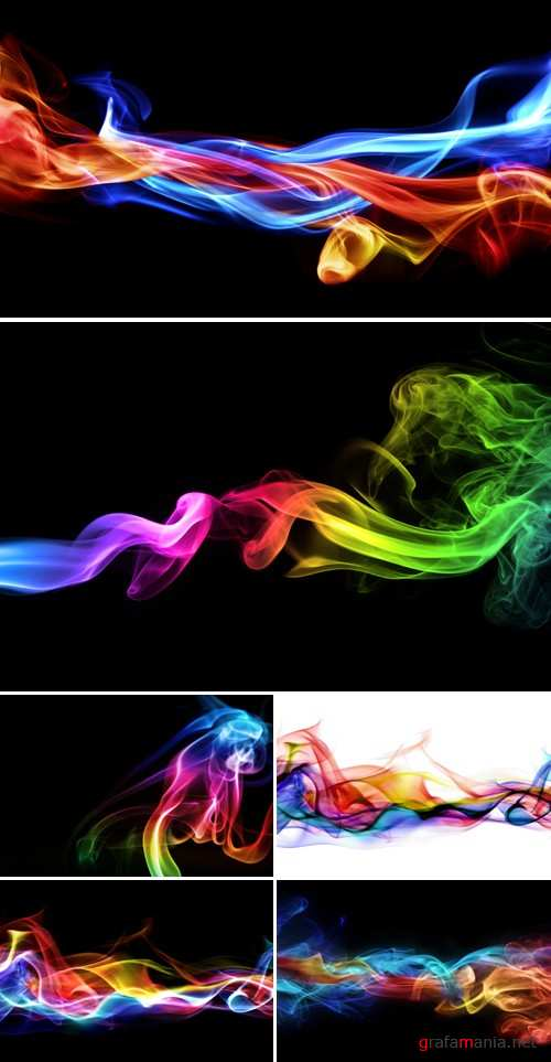 Stock Photo - Color Smoke