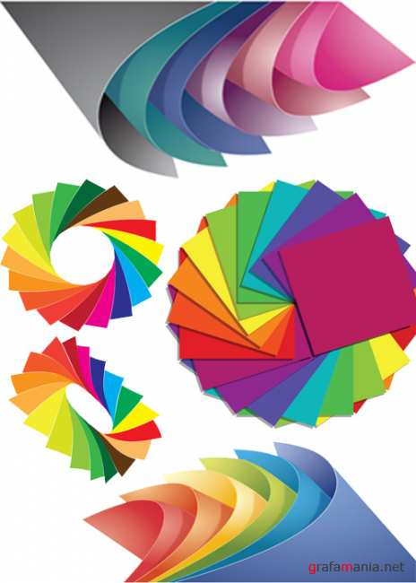 Paper-of-Different-Colors-Vector