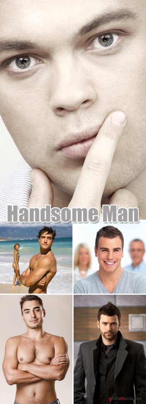 Stock Photo - Handsome Man