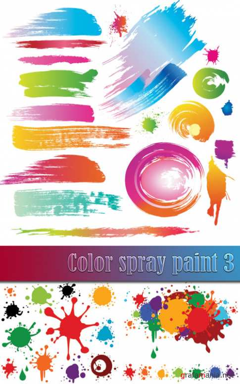 Color spray paint 3
