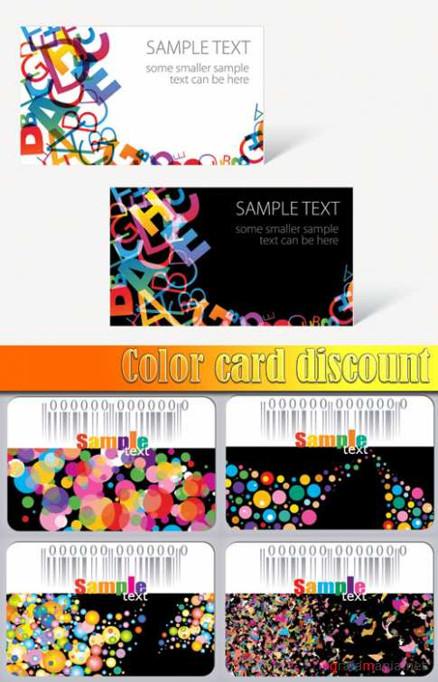 Color card discount