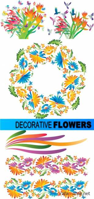 Decorative flowers
