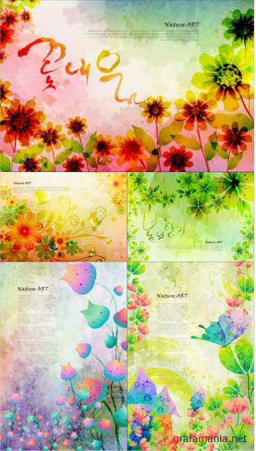 Nature Art Vector 5