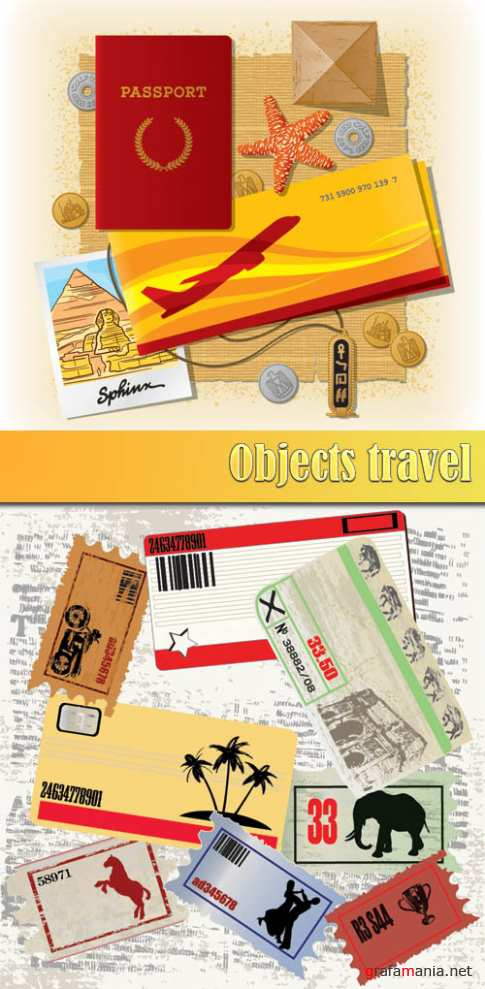 Objects travel