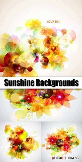 Sunshine backgrounds